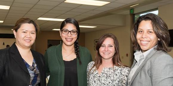 OCWLA members attend the annual Women Judges Reception at Whittier Law School
